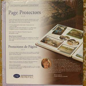 Creative Memories Page Protectors 12x12